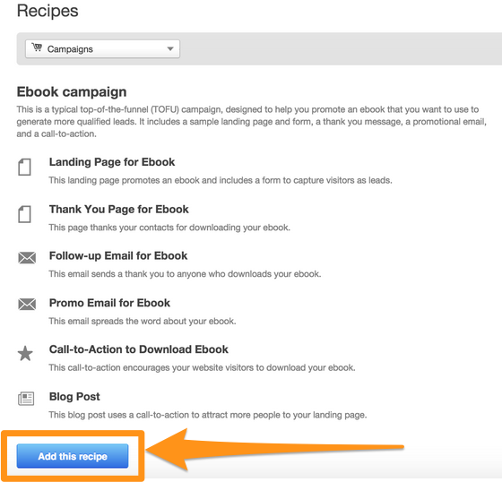 ebook campaign