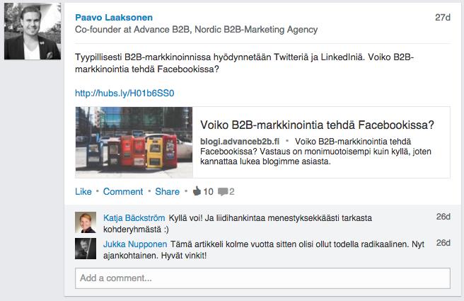 social-selling-linkedin-post